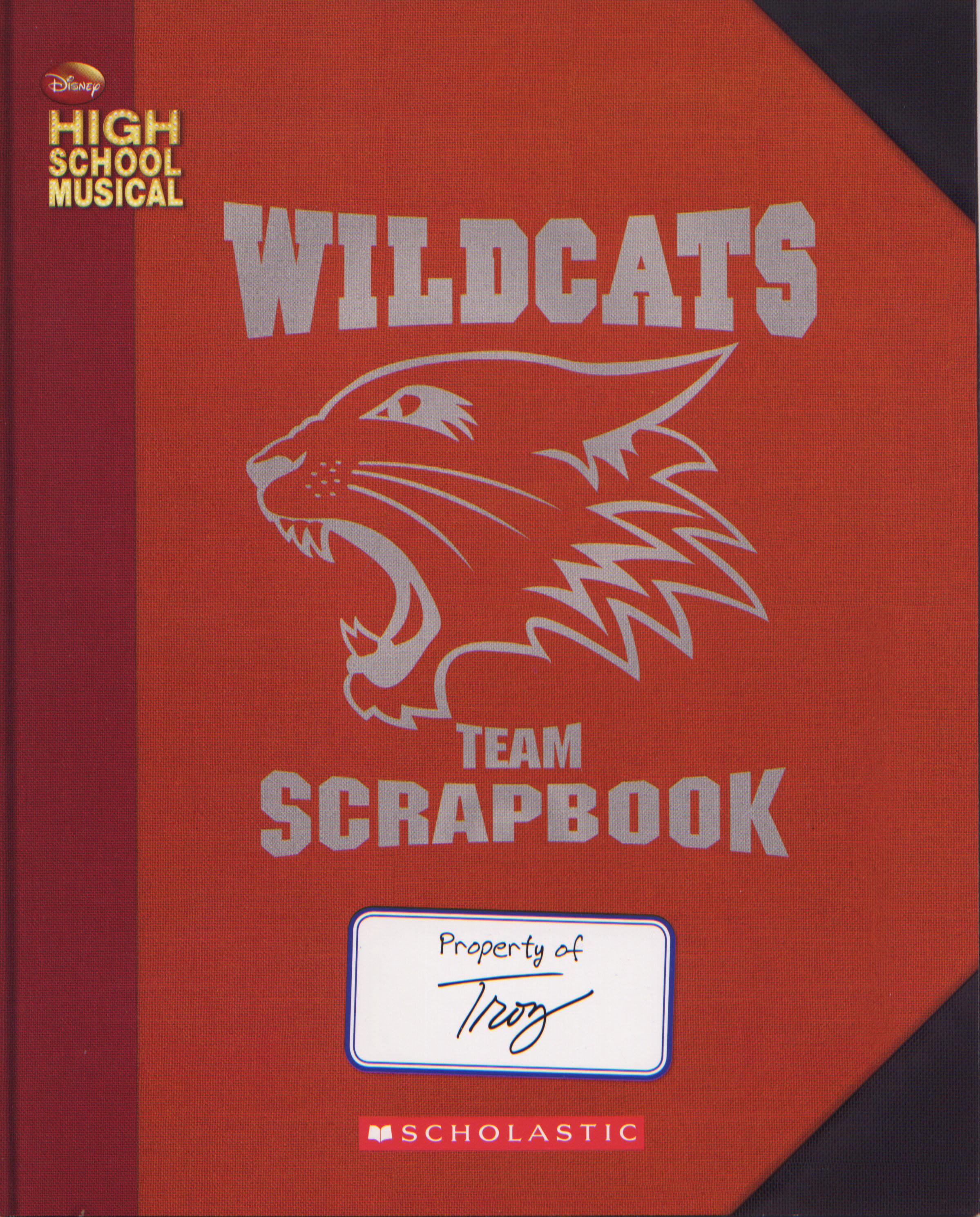 High School Musical: Troy's Wildcats Team Scrapbook